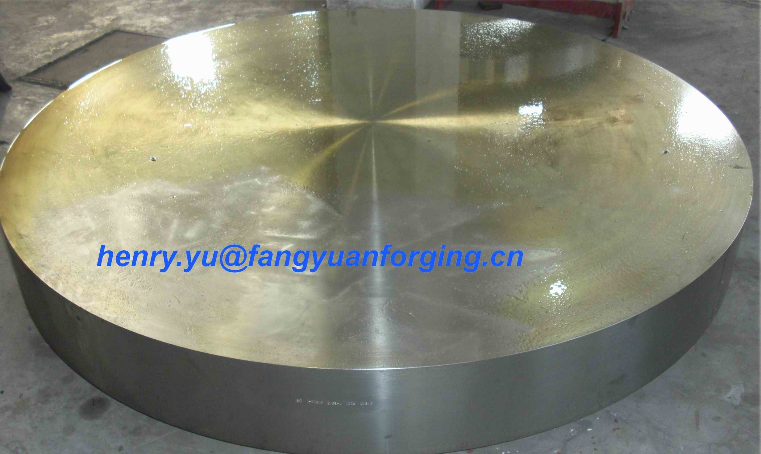 Tube Sheet Double Stainless Steel Forged Disc 1.4462, F51, S31803; F60, S32205; F53, S32750